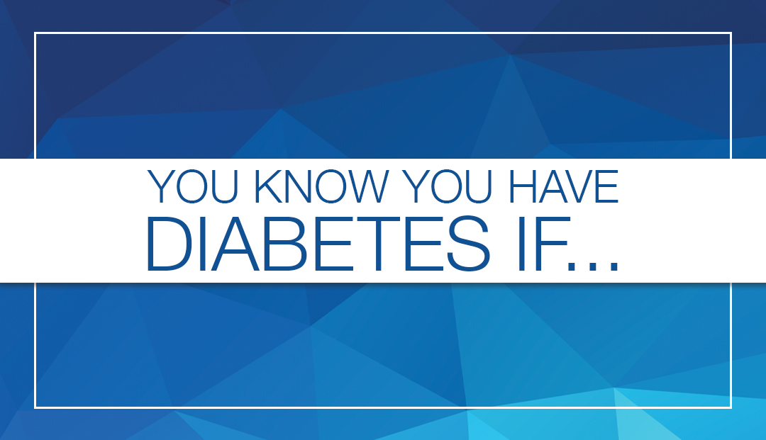 how to tell if you have diabetes at home