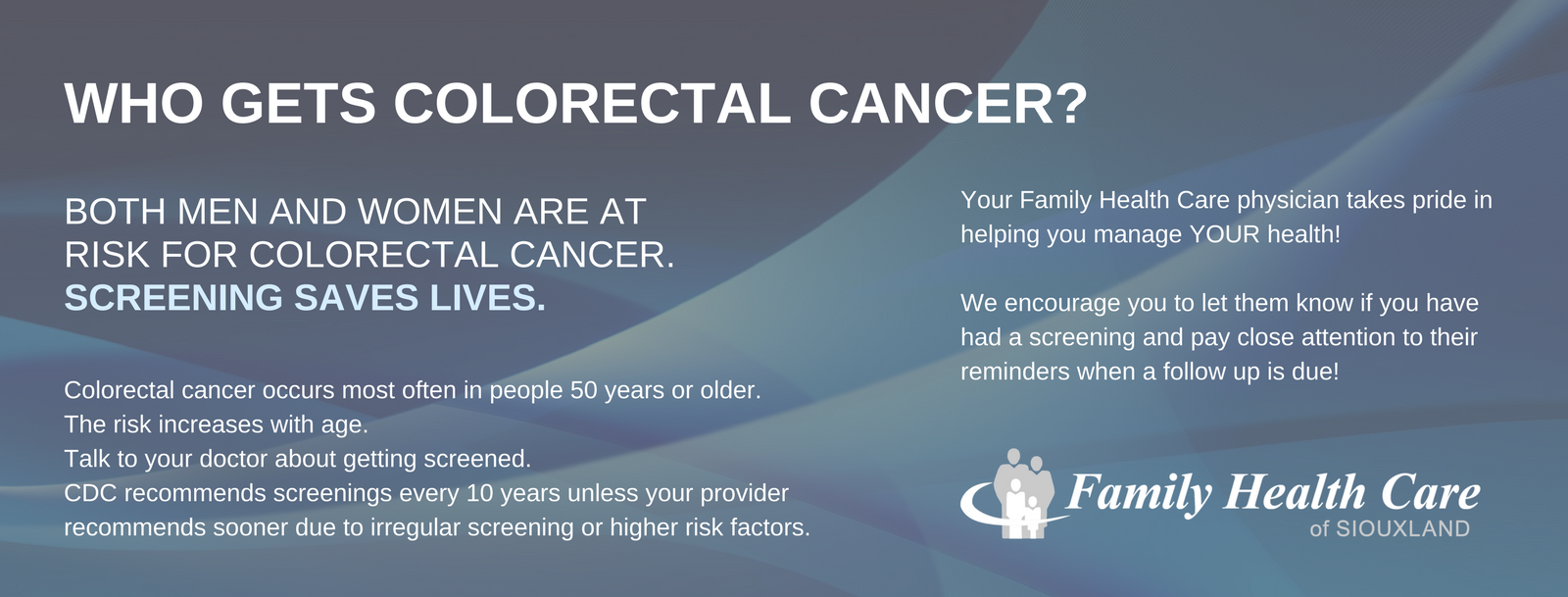 Information about Colorectal Screenings
